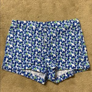 Abercrombie and Fitch high-waisted floral shorts